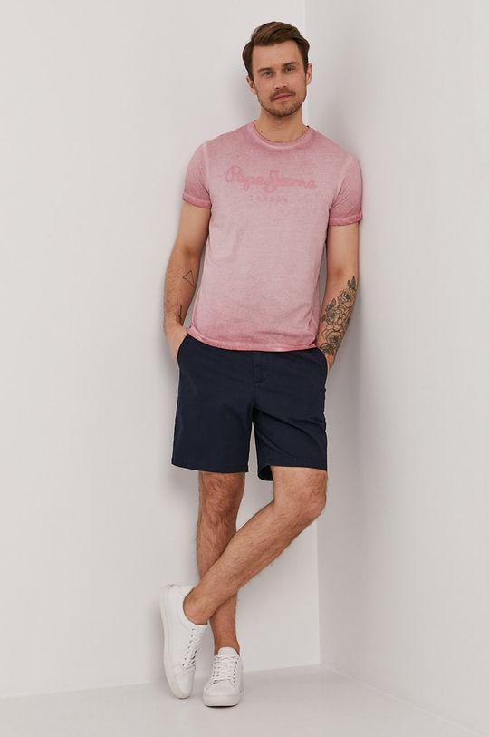 Pepe Jeans - Tričko West Sir ružová