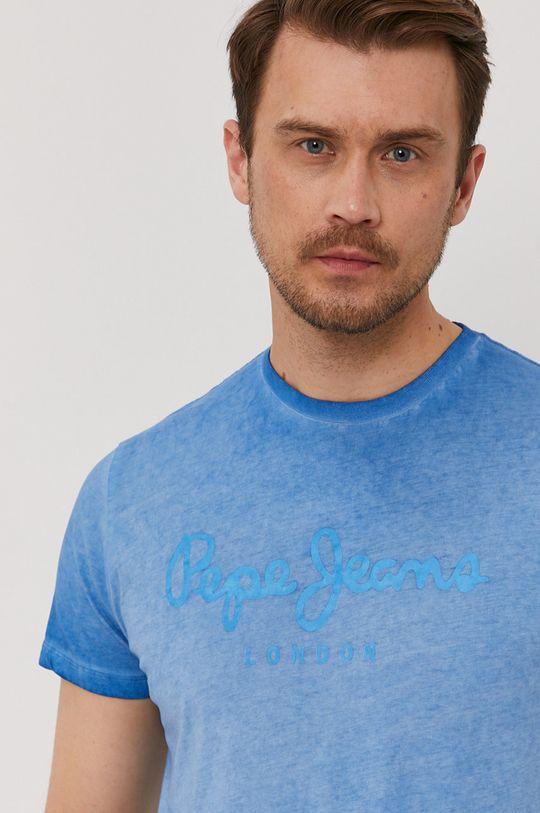 niebieski Pepe Jeans - T-shirt West