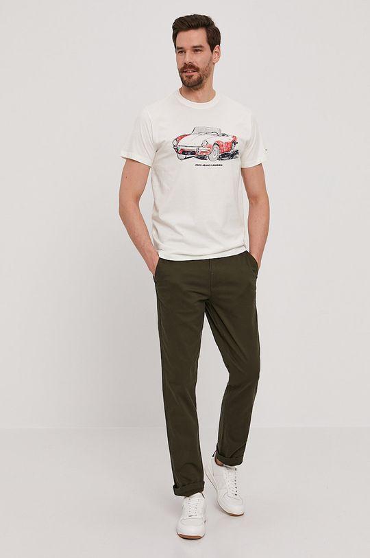 Pepe Jeans - Tričko Gary bílá