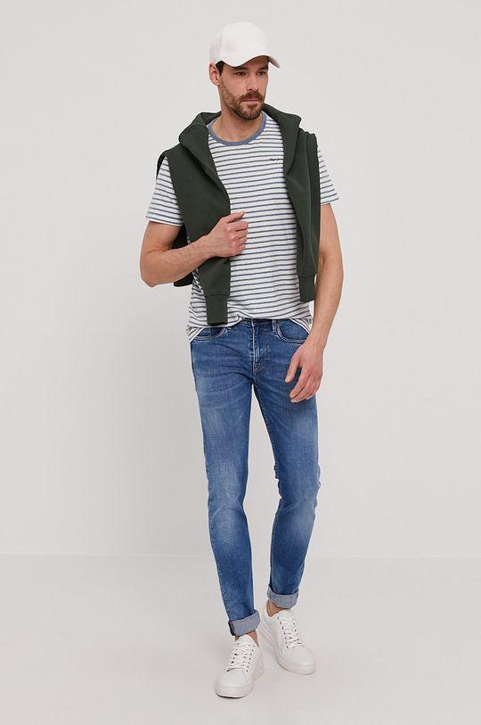 Pepe Jeans - Tričko Gael bílá