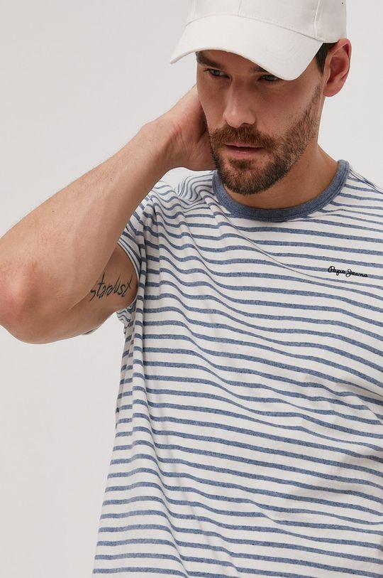 bílá Pepe Jeans - Tričko Gael