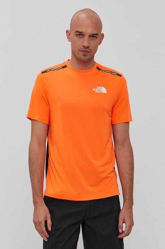 pomarańczowy The North Face - T-shirt Męski