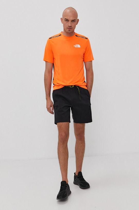 The North Face - T-shirt pomarańczowy