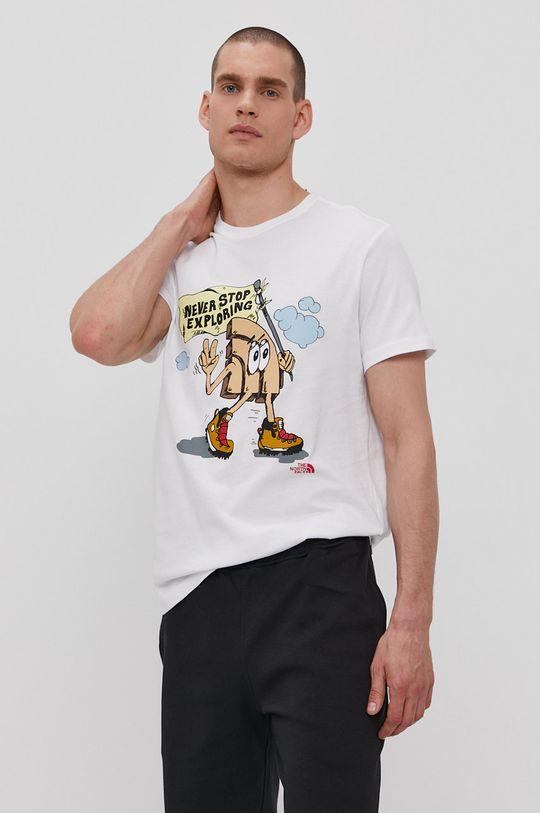 bílá The North Face - Tričko