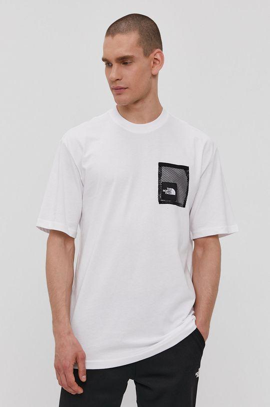 biały The North Face - T-shirt Męski