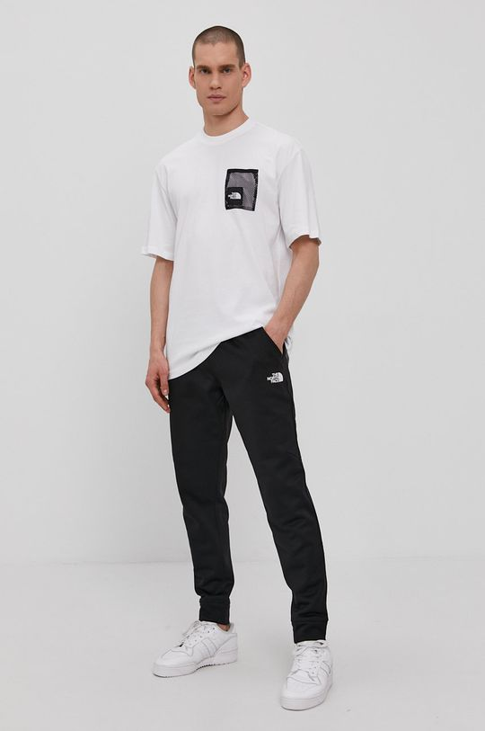 The North Face - T-shirt biały