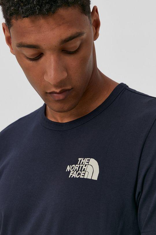 tmavomodrá The North Face - Tričko