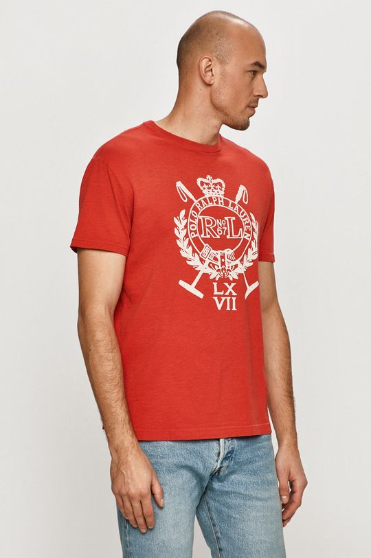 červená Polo Ralph Lauren - Tričko Pánsky