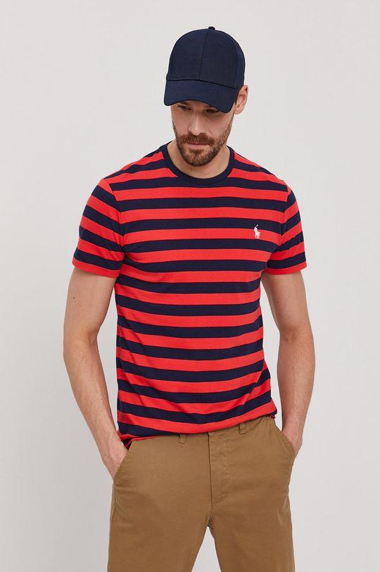 czerwony Polo Ralph Lauren - T-shirt Męski