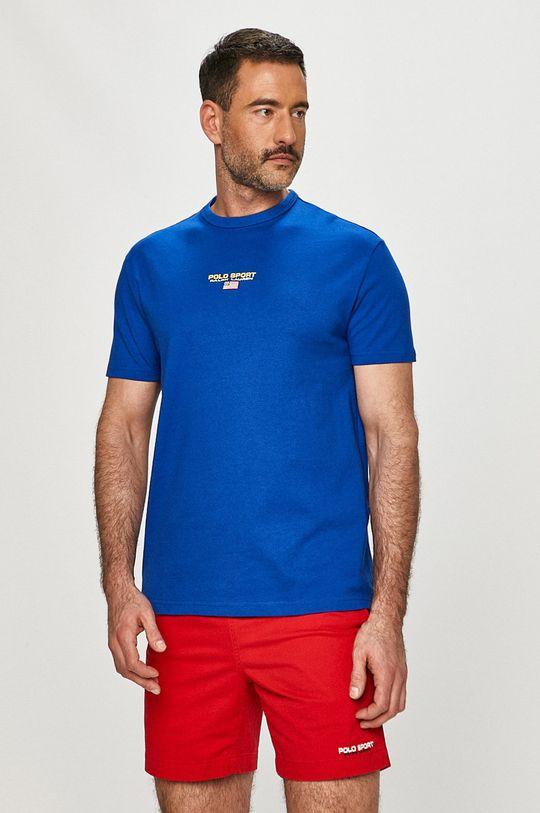 niebieski Polo Ralph Lauren - T-shirt Męski