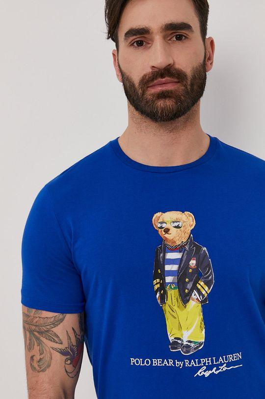 modrá Polo Ralph Lauren - Tričko Pánsky