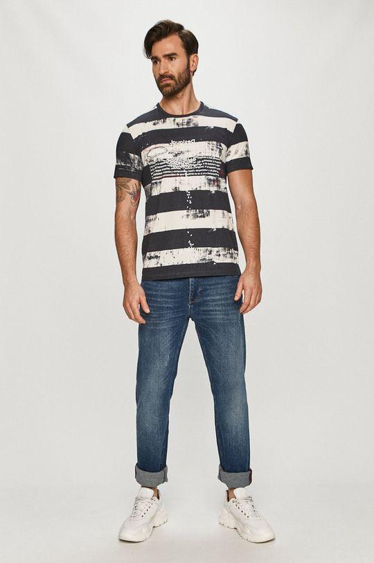 Desigual - Tričko vícebarevná