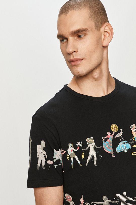 czarny Desigual - T-shirt
