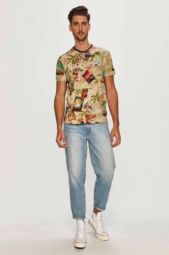 Desigual - T-shirt multicolor