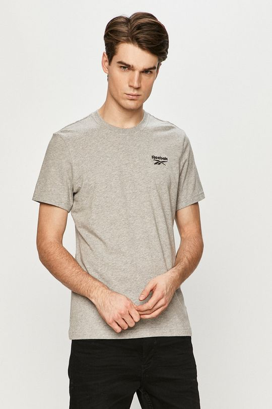 szary Reebok - T-shirt Męski