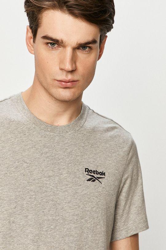 szary Reebok - T-shirt