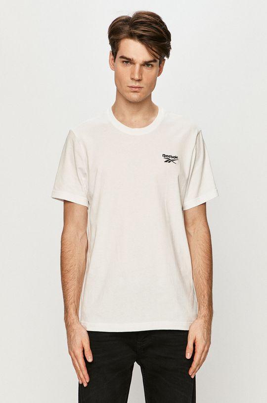 biela Reebok - Tričko Pánsky