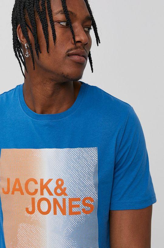fialová Jack & Jones - Tričko Pánsky