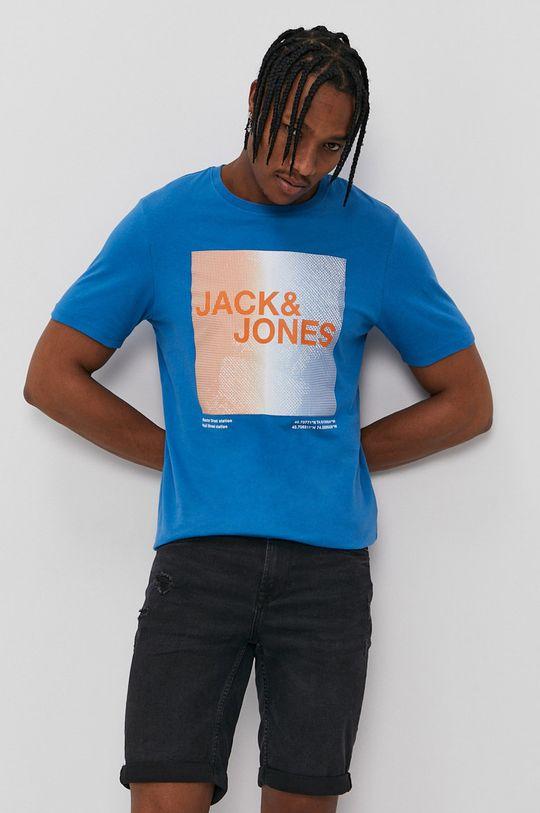 Jack & Jones - Tričko fialová