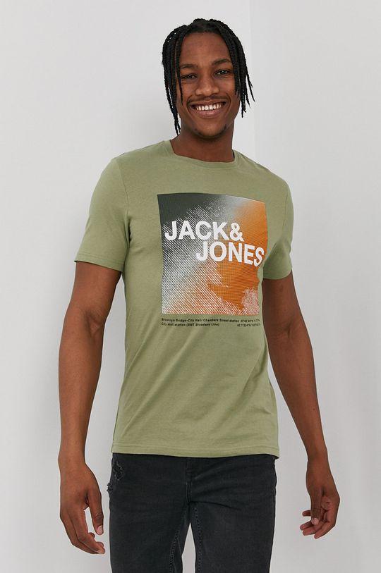 verde ascutit Jack & Jones - Tricou De bărbați
