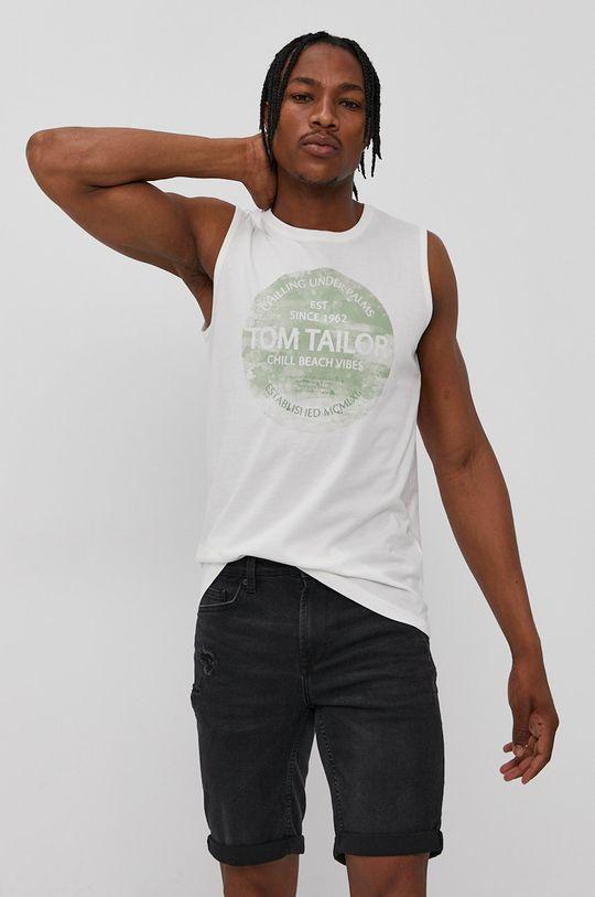 alb Tom Tailor - Tricou De bărbați