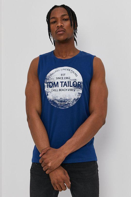 albastru Tom Tailor - Tricou De bărbați