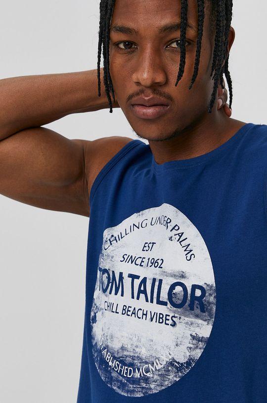 Tom Tailor - Tricou albastru