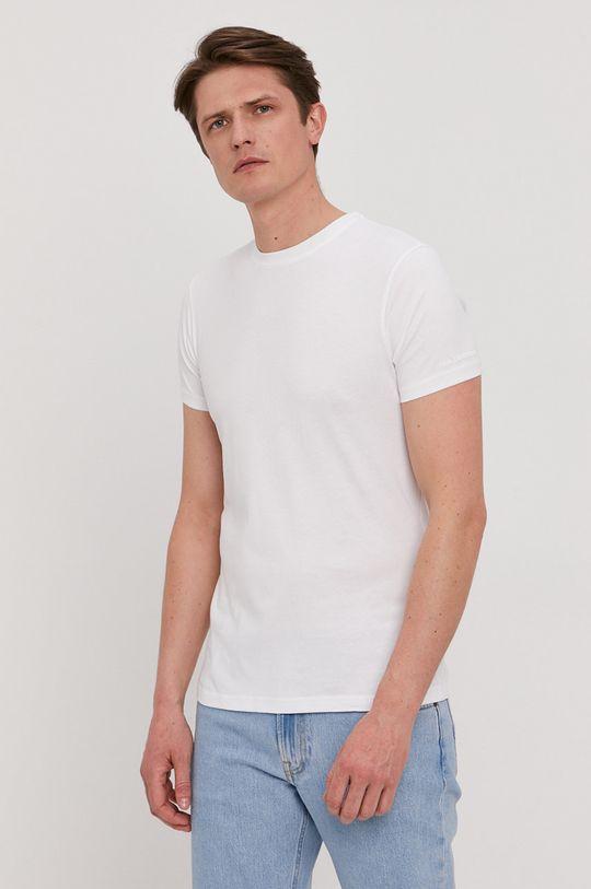 biela Karl Lagerfeld - Tričko (2-pack) Pánsky