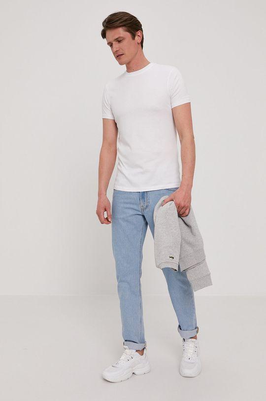 Karl Lagerfeld - Tričko (2-pack) biela