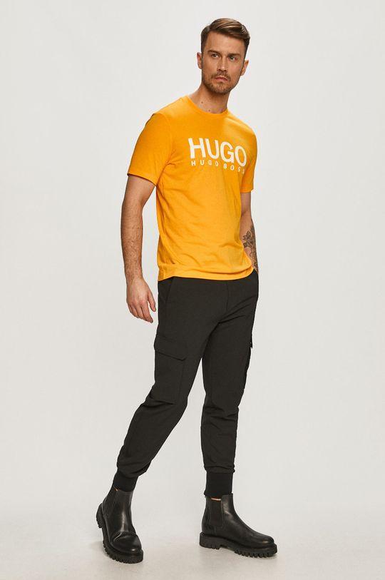 Hugo - Tričko oranžová