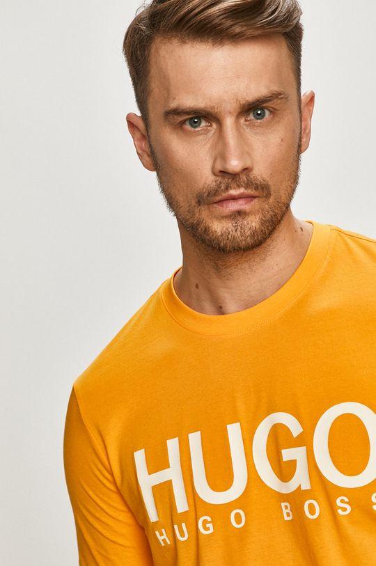 oranžová Hugo - Tričko
