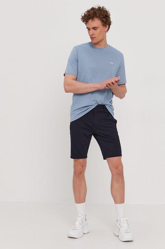 Hugo - T-shirt jasny niebieski