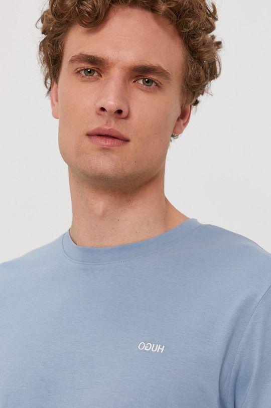 jasny niebieski Hugo - T-shirt
