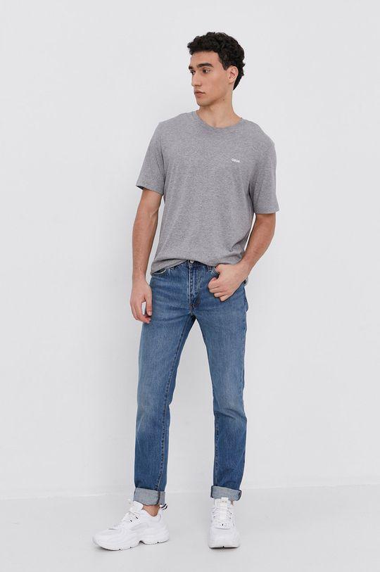HUGO - T-shirt/polo 50450482 szary