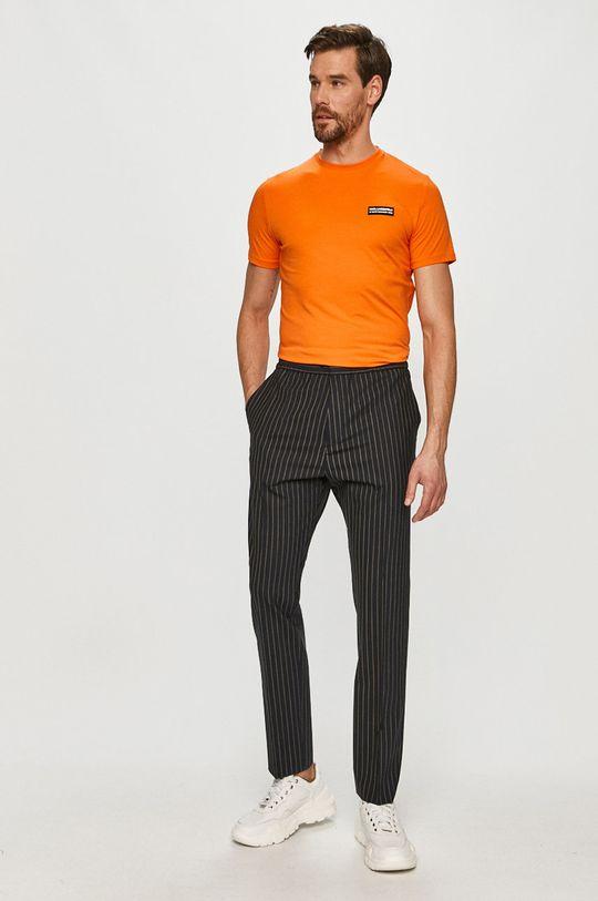 Karl Lagerfeld - Tričko oranžová