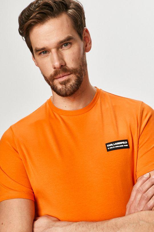 oranžová Karl Lagerfeld - Tričko