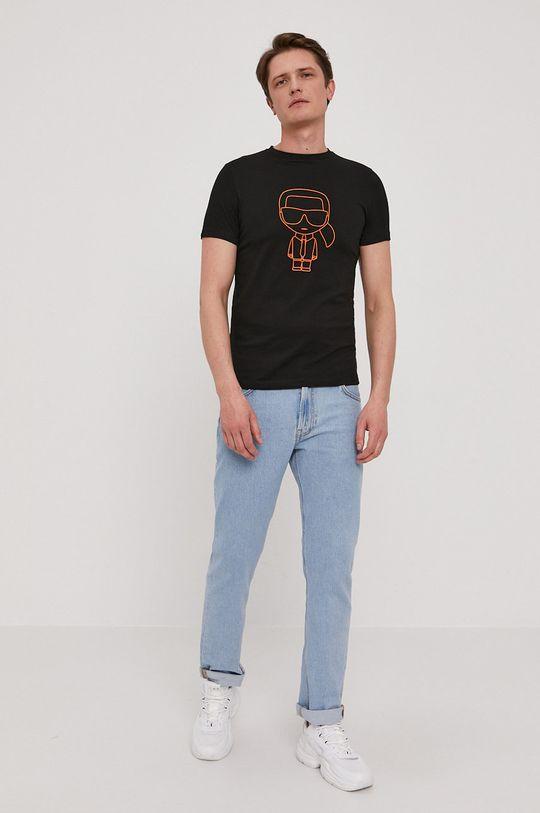Karl Lagerfeld - T-shirt czarny