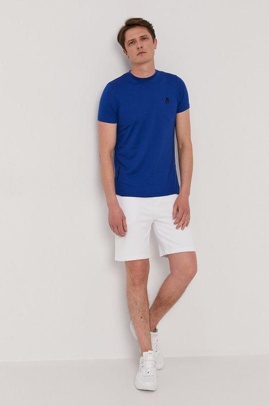 Karl Lagerfeld - T-shirt niebieski