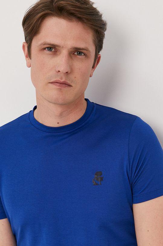 niebieski Karl Lagerfeld - T-shirt