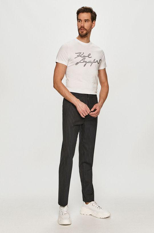 Karl Lagerfeld - Tričko bílá