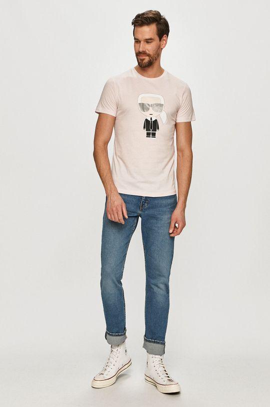 Karl Lagerfeld - Tričko růžová