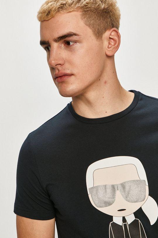 námořnická modř Karl Lagerfeld - Tričko