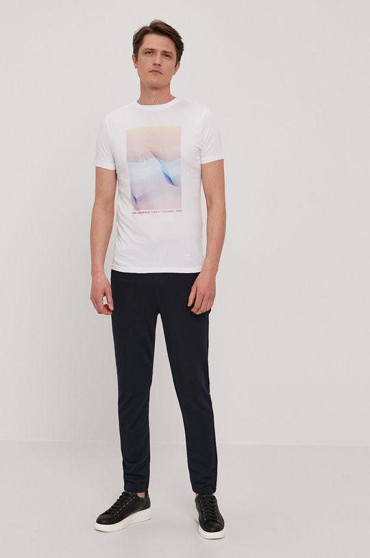 Karl Lagerfeld - T-shirt biały