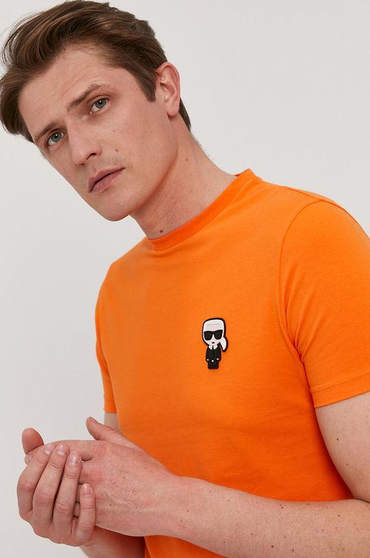 pomarańczowy Karl Lagerfeld - T-shirt