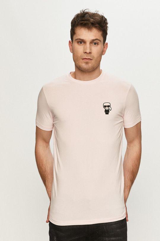 ružová Karl Lagerfeld - Tričko Pánsky