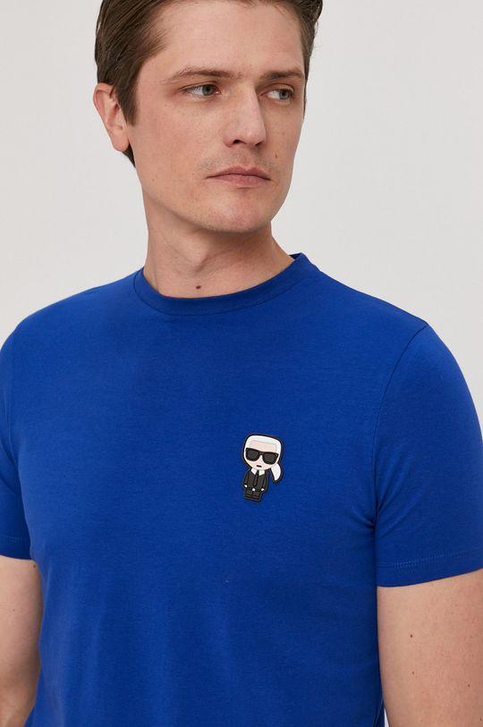 modrá Karl Lagerfeld - Tričko Pánsky