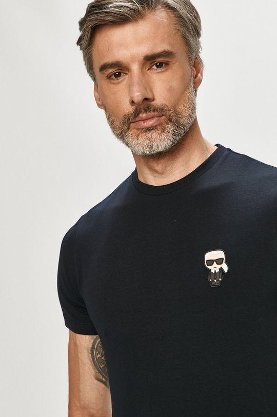 tmavomodrá Karl Lagerfeld - Tričko