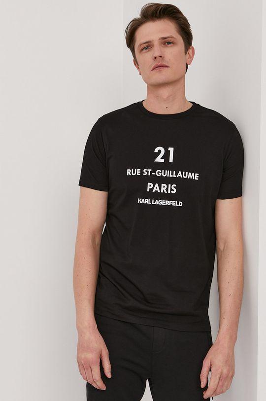 černá Karl Lagerfeld - Tričko Pánský