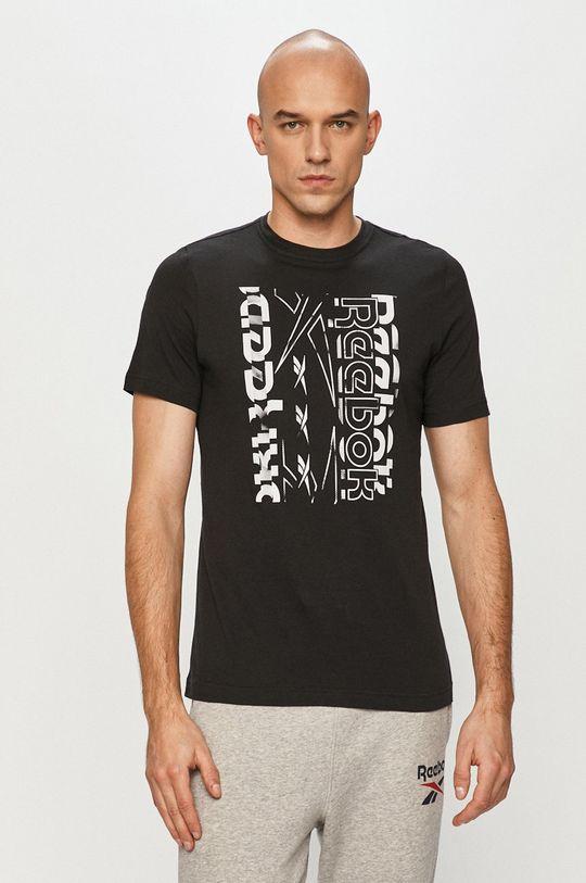 černá Reebok - Tričko Pánský