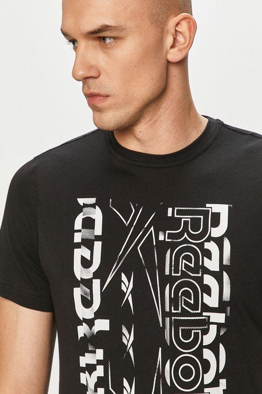 černá Reebok - Tričko